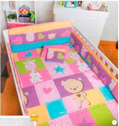 set de edredon para cuna de bebe sweet dulce cuarto de niñas