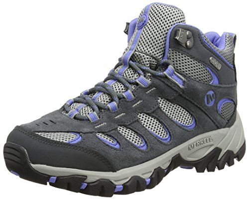 1b643930 Merrell Women's Ridgepass Mid Waterproof High Rise Hiking Boots ...