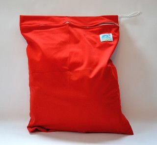 Bobolider Woreczek na pieluszki wielorazowe czerwony