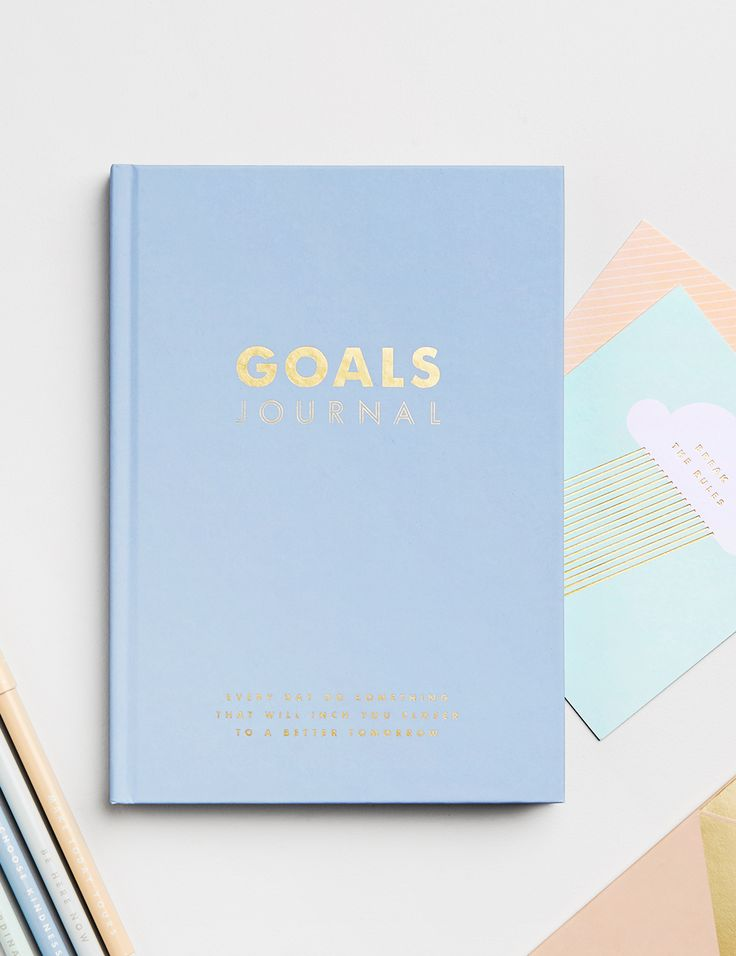 What are you hoping to achieve over the next few years? This gorgeous Goals Journal features fun exercises, prompts and planners to help you define what matters to you and set a clear pathway to achieve your dreams.