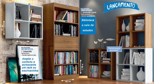 Sala de estudos - Casas Bahia