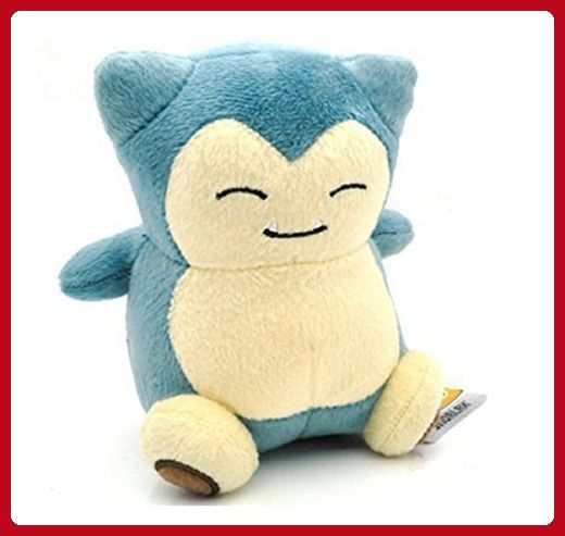 "Pokemon Snorlax 6"" Plush Doll - Plush cuteness (*Amazon Partner-Link)"