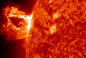 Geomagnetic Storms can be catastrophic to the power grid, and such a geomagnetic storm could hit earth very soon.