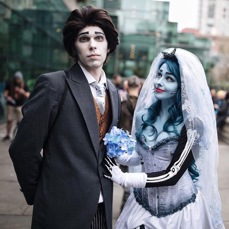 emily the corpse bride cosplay showcase - The Corpse Bride Halloween Costume