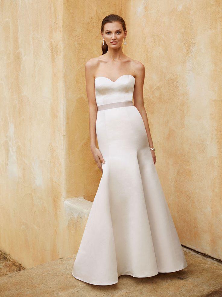 Beautiful 2016, BT16-27 front view - Enzoani 2016 Wedding Dresses | itakeyou.co.uk #weddinggown #bridal #wedding