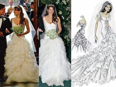 Свадебное платье лиз херли фото