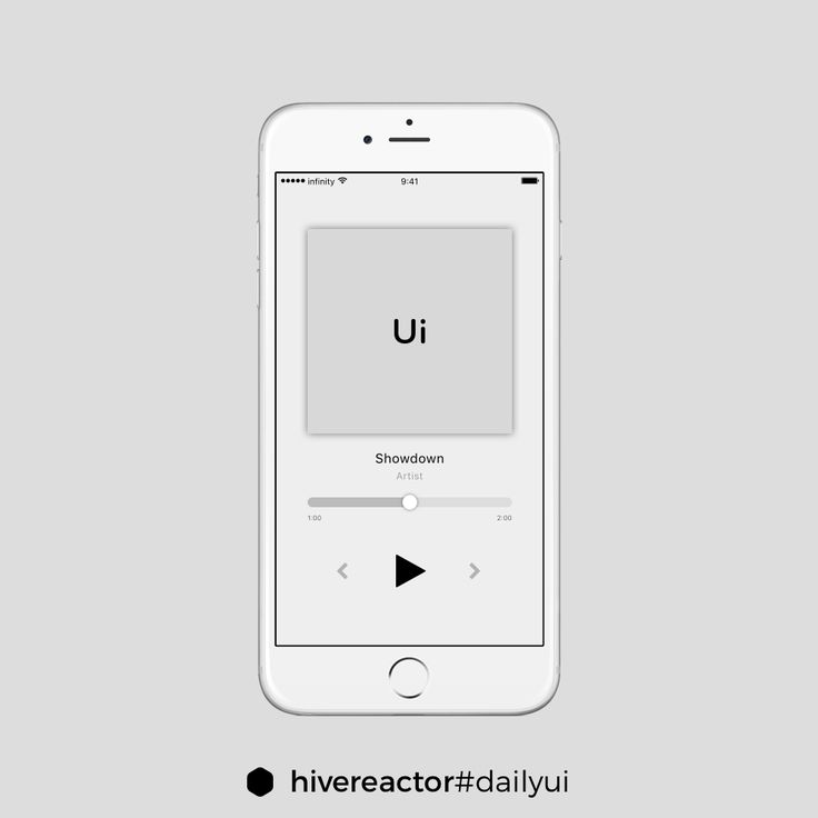 Nineth ‪#‎DailyUI‬. See the simple music app. ‪#‎design‬ ‪#‎ui‬