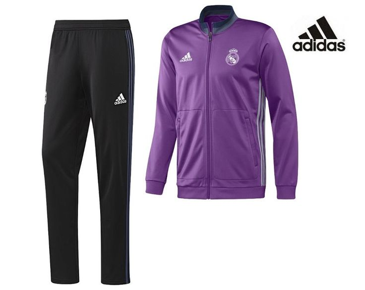 Chándal del Real Madrid Adidas 2017. Antes 100,00€, ahora 80,00€.