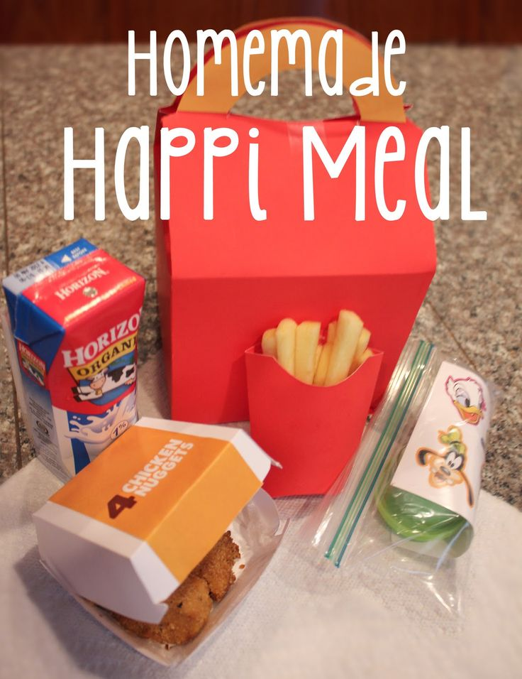 Repeat Crafter Me: Homemade Happi Meal