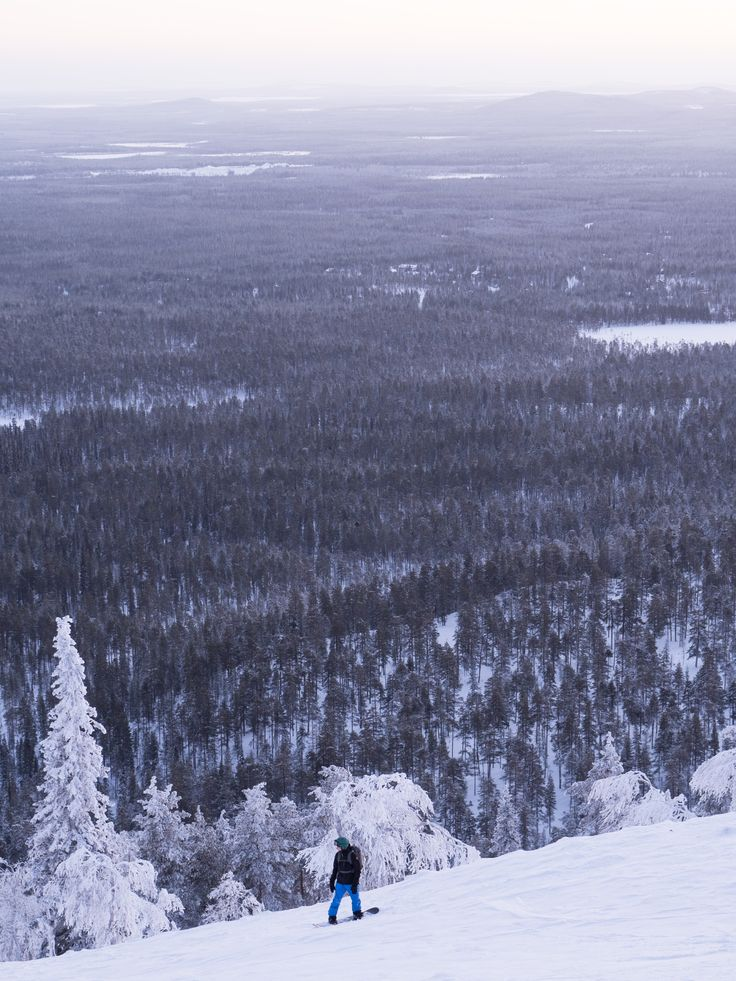 Snowboarding in Finland. Organic Merino Wool Beanies by VAI-KØ. FREE INTL SHIPPING TILL CHRISTMAS!