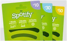 Spotifyn lahjakortti