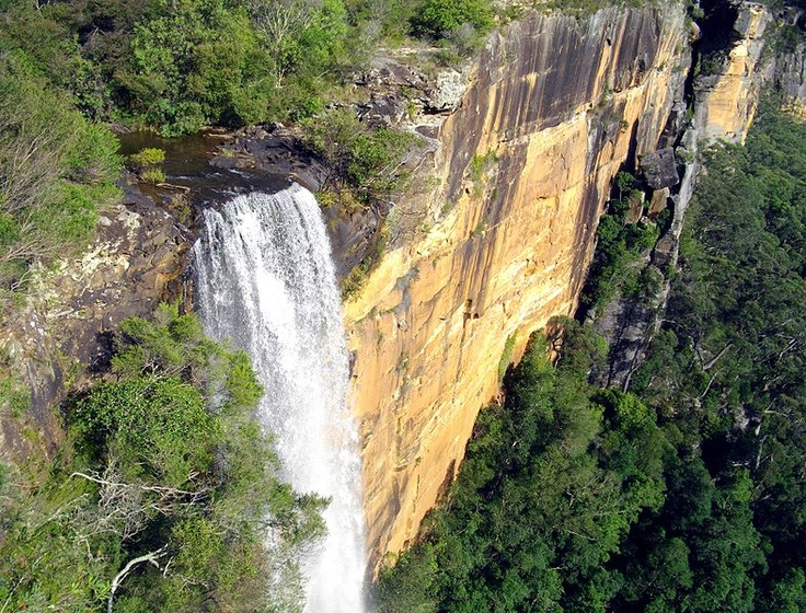The Fitzroy Falls near Moss Vale in the Southern Highlands of New South Wales, Australia.