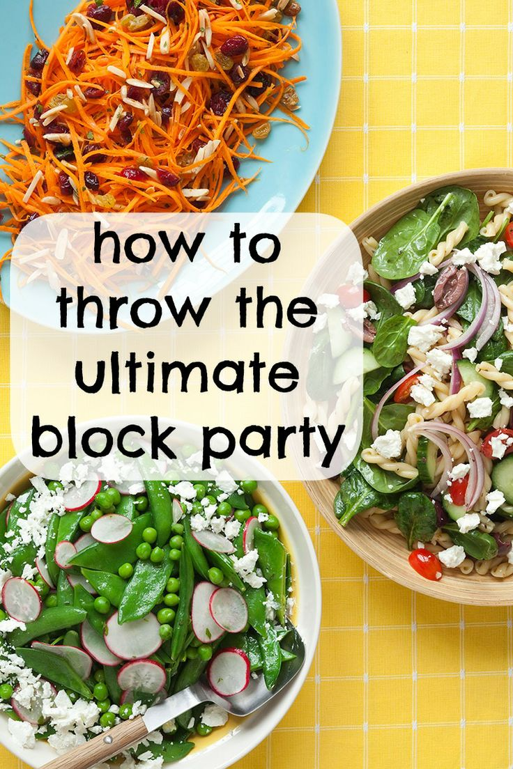 How to throw the ultimate block party - easy, affordable recipes we love!