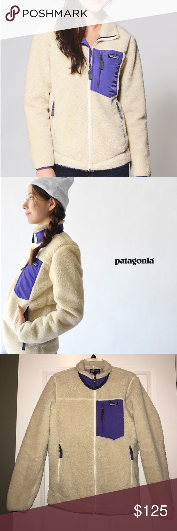 Patagonia Womens Retro X jacket medium Patagonia retro x jacket worsens medium. This is such a comfortable jacket for cold weather! It keeps you so warm and is cute as can be! Patagonia Jackets & Coats Utility Jackets