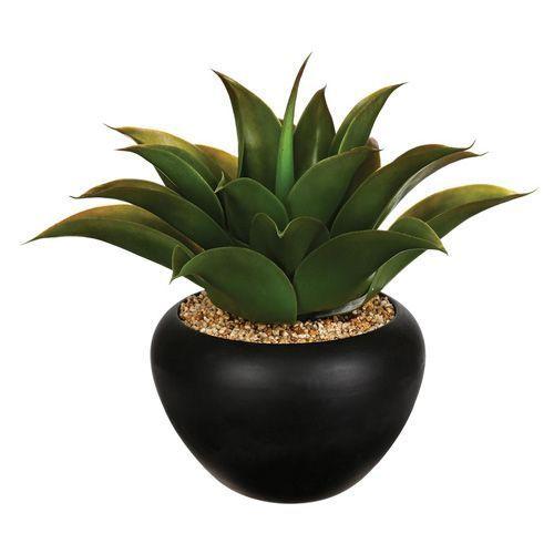 Aloe vera artificielle en pot - H. 37 cm #Plante #PlanteArtificielle