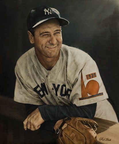 lou gehrig worlds fair patch by ron stark