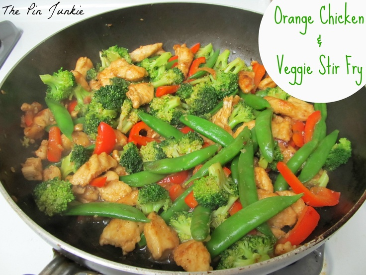 Best 25 chicken vegetable stir fry ideas on pinterest chicken orange chicken vegetable stir fry forumfinder Image collections