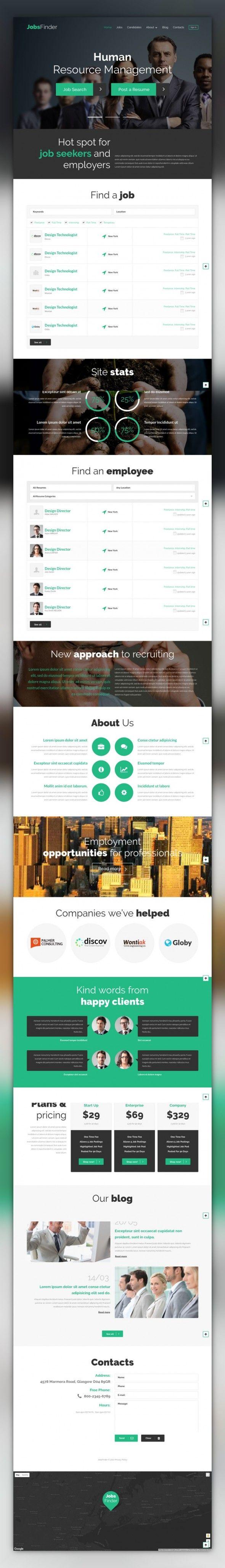 The mentor network employee portal - Job Portal Responsive Wordpress Theme Cms Blog Templates Wordpress Themes Business Services