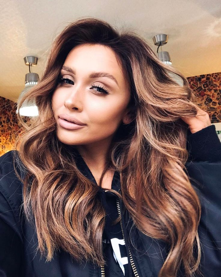 """19.3k Likes, 191 Comments - Sarah Ashcroft (@sarahhashcroft) on Instagram: """"It's official, @vixenandblush can do no wrong  absolutely smashed my new brunette hair  (lip…"""""""