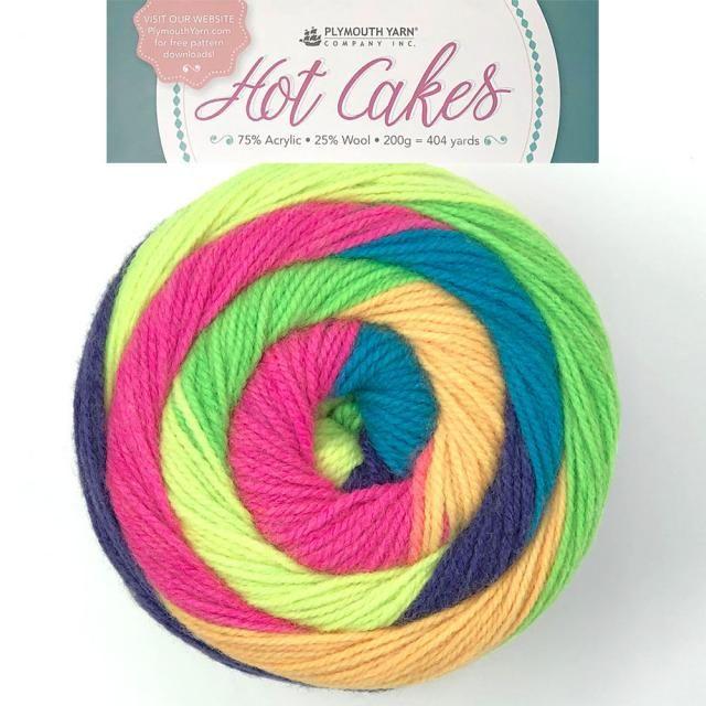 Hot Cakes Item 662 New Spring Plymouth Yarn Crochet Yarn