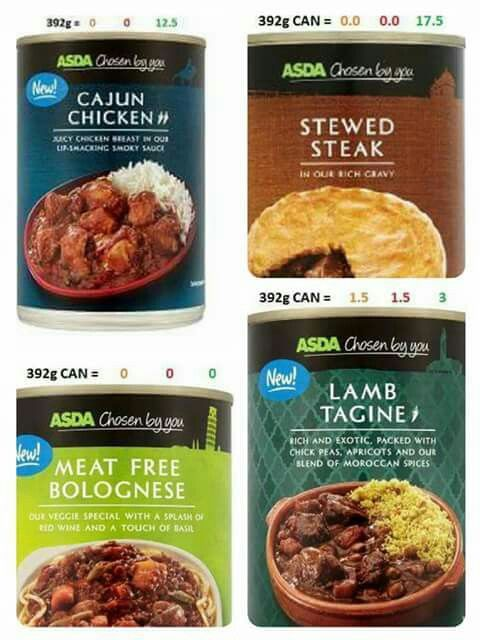 Asda Tinned Free On Ee Slimming World Friendly Bites