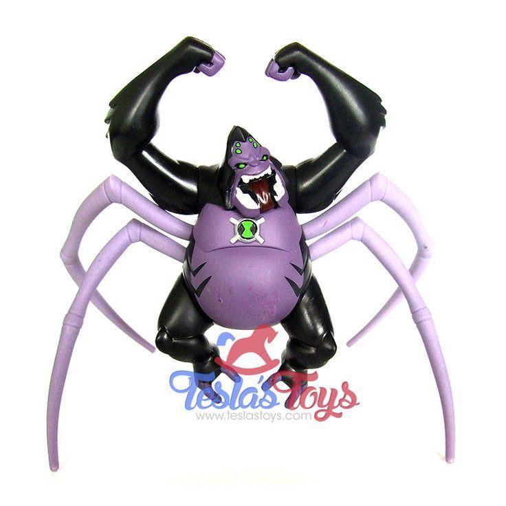 Ben 10 Ultimate Alien Comic Exclusive Action Figure 2-Pack - Ultimate Spidermonkey (Loose), 13.99  #actionfigure #ben10 #ben10ultimatealien #spidermonkey