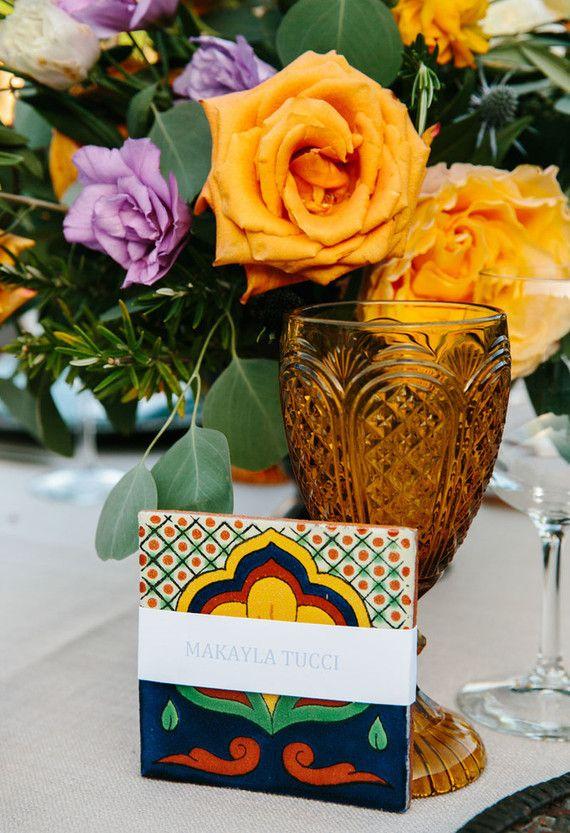Spanish style wedding florals | Wedding & Party Ideas | 100 Layer Cake