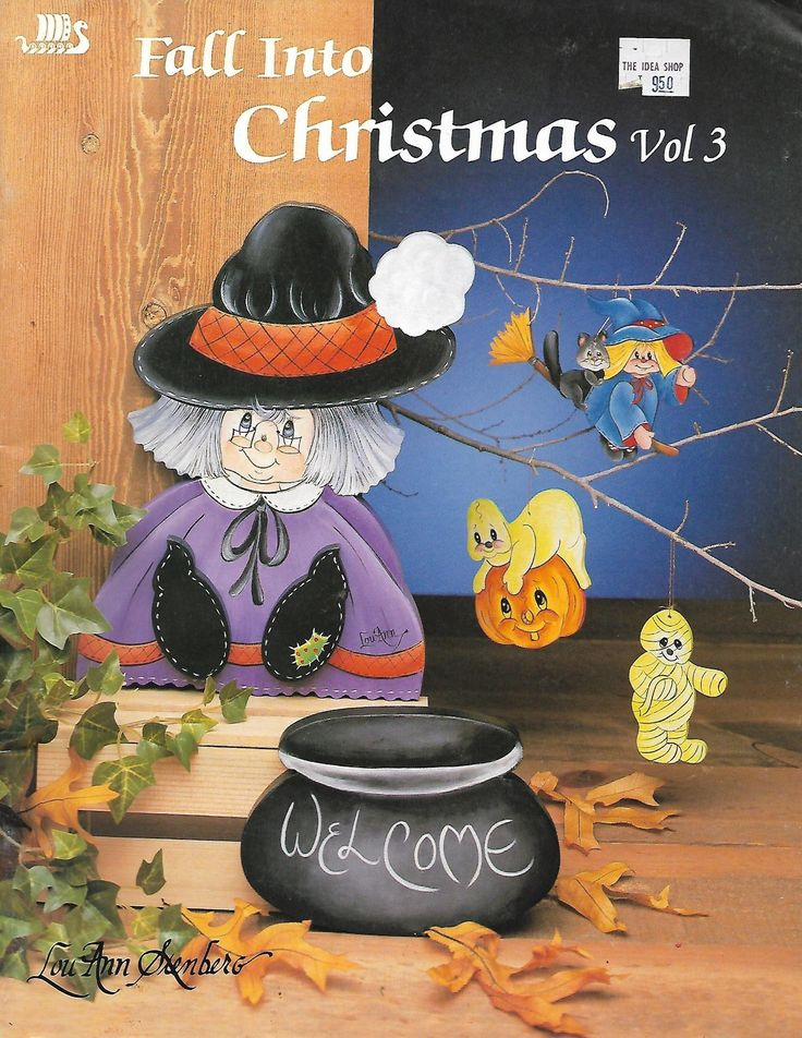 Fall Into Christmas Vol 3 by LouAnn Stenberg Tole