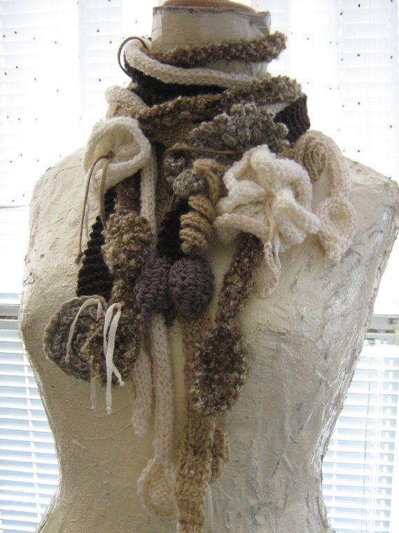 Knitting shawl by Suzann61 on Etsy, $45.00