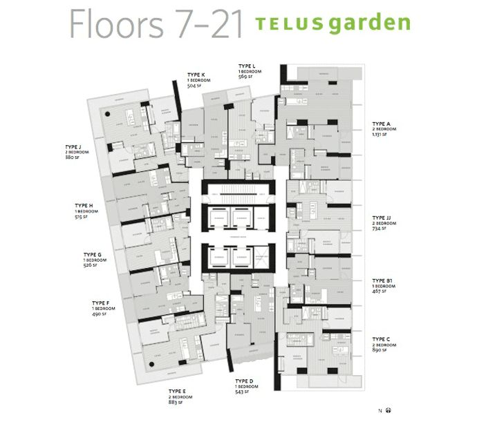 High Rise Residential Floor Plan Google Search