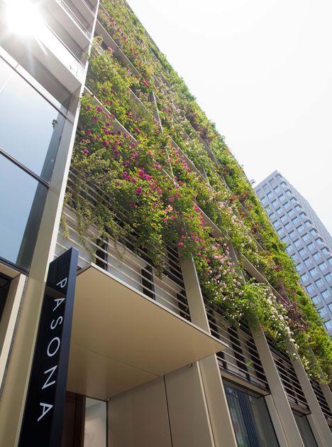 Pasona Urban Farm by Kono Designs Japan