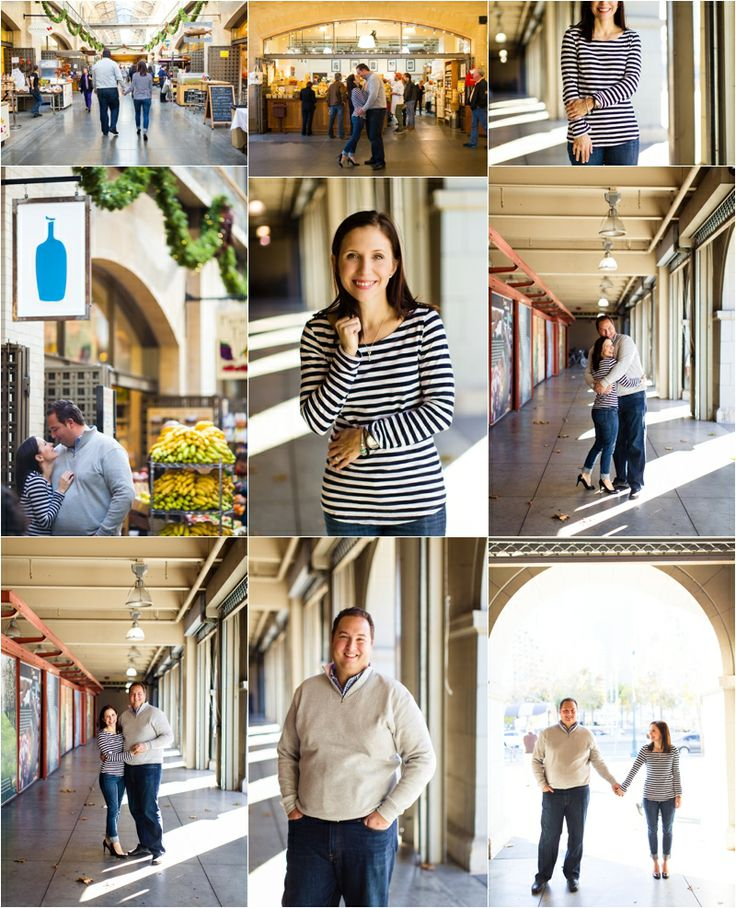 San Francisco ferry building engagement