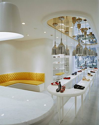 Shoe Store Design - Retail Commercial Interior Design | Mindful Design Consulting - retail-store-design-shelving-2