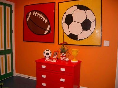 Design Dazzle: The Ultimate LEGO & Sports Bedroom