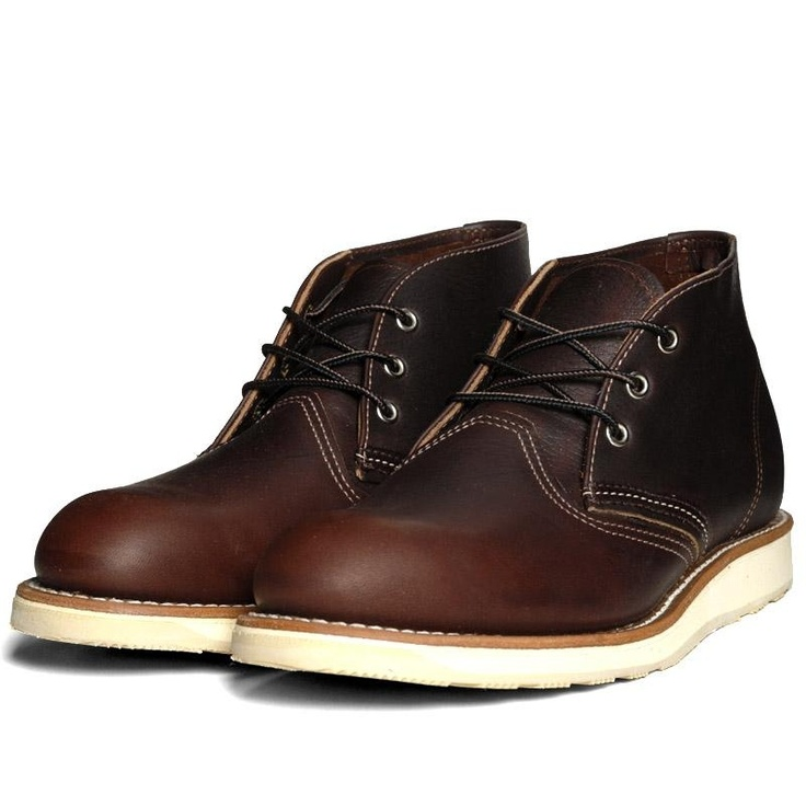 Red Wing Chukka -- self Christmas present.