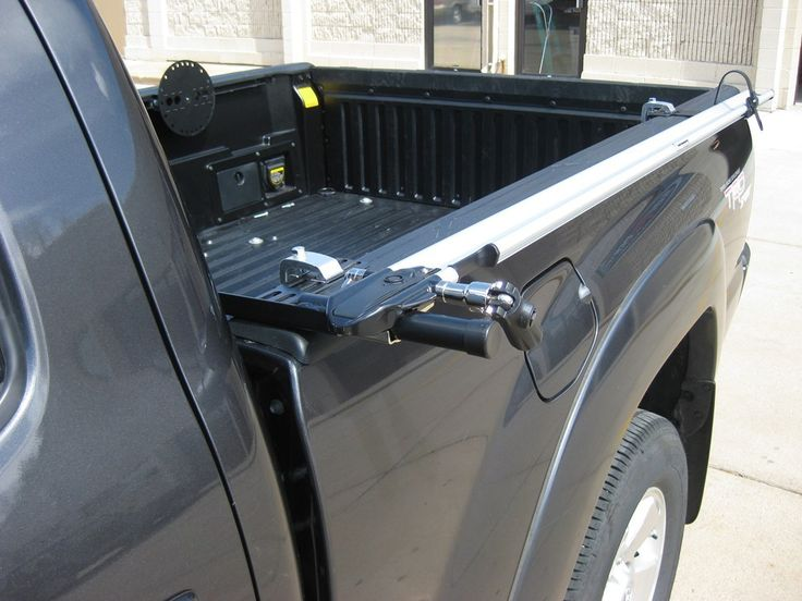 Leer Tonneau Cover >> Side Mount Bedrail Bike Rack | Truck accessories, Truck bed rails, Bike rack