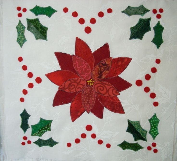 353 best Christmas Applique Quilts / Patterns images on Pinterest ... : quilting applique instructions - Adamdwight.com