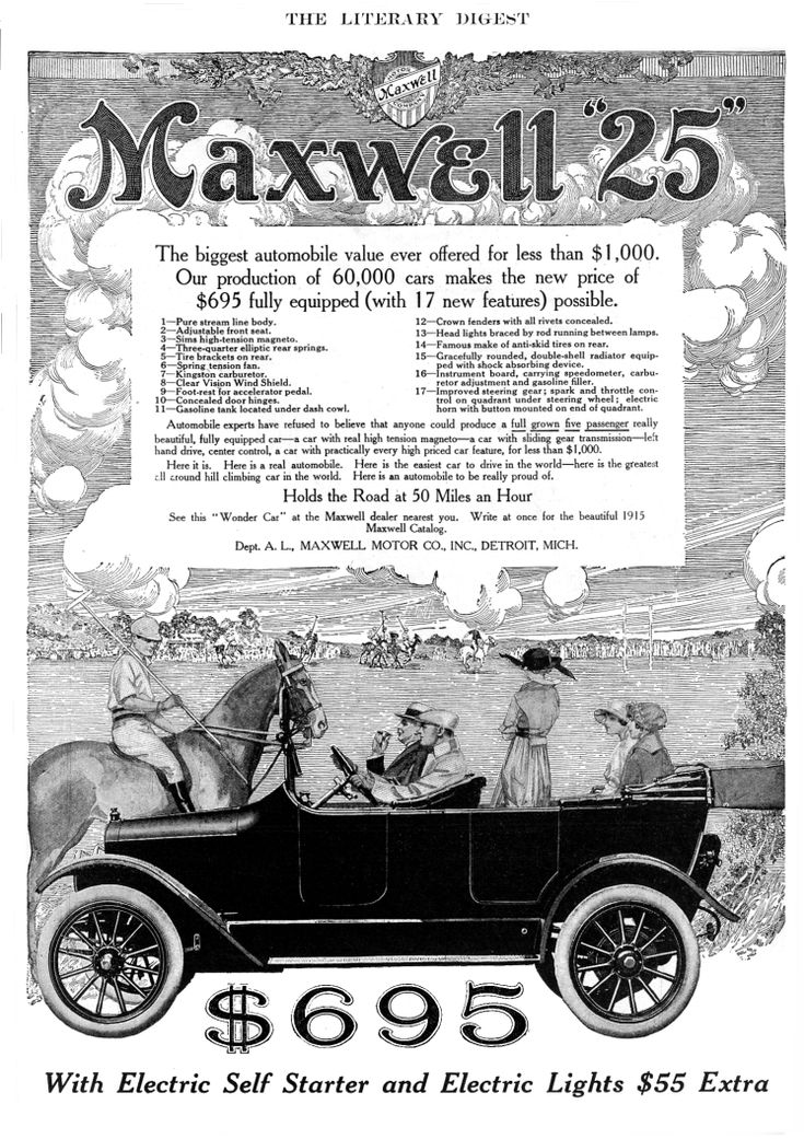 22 best Maxwell Car Ads images on Pinterest | Vintage cars, Ads ...