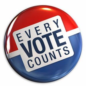 Today is the day. No excuses. GET OUT AND VOTE!