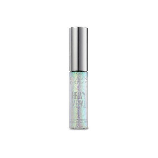 Urban Decay Distortion Heavy Metal Glitter Eyeliner (64 BRL) ❤ liked on Polyvore featuring beauty products, makeup, eye makeup, eyeliner, distortion, gel eyeliner, gel eye liner, urban decay eyeliner, urban decay eye makeup and urban decay eye liner