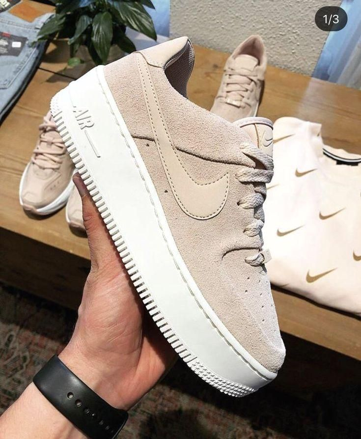 nike air force 1 sage bianco