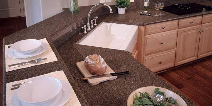 Brown Kitchen Countertops