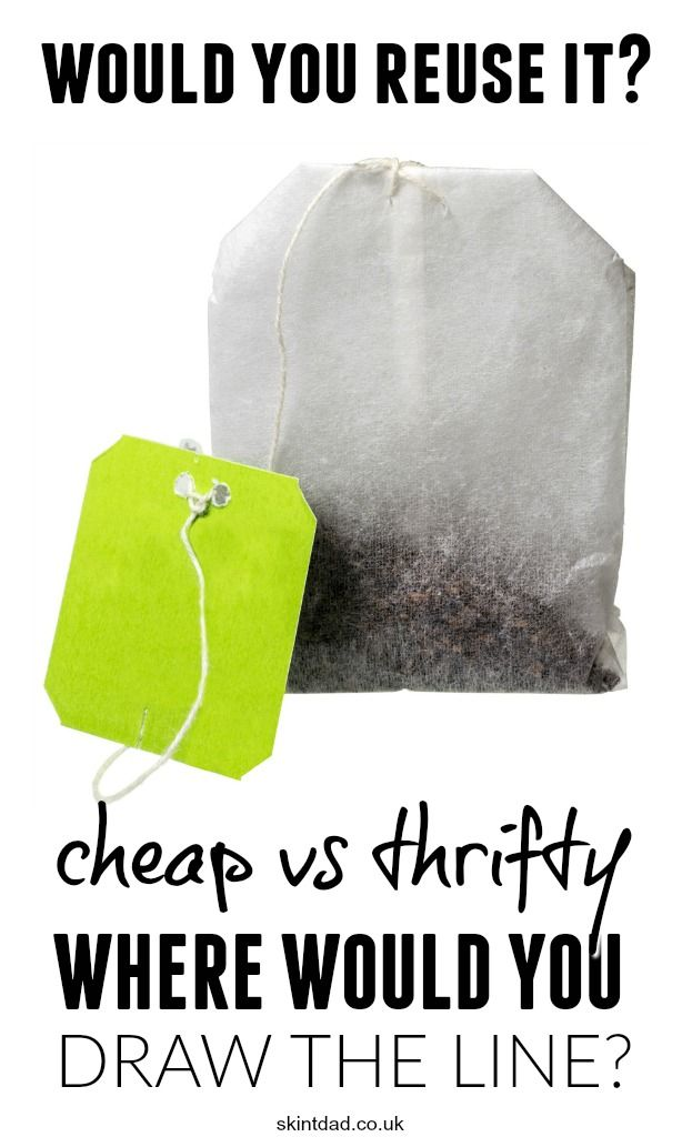 Sometimes it's clear where the line between frugal living and being a cheapskate, tightwad or just downright stingy is. However, sometimes this…