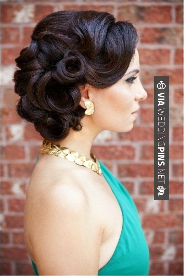 35 best wedding updos for long hair images on pinterest weddings vintage updo wedding hairstyles wedding ideas picture classic wedding updos hairstyles for short hair junglespirit Images