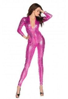 Faux Leather Catsuit Latex Body Suit