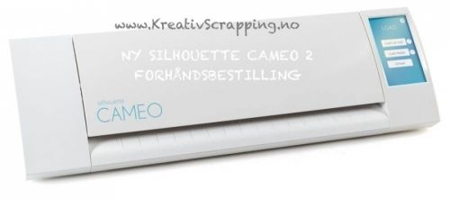 SILHOUETTE CAMEO2 - DIGITAL KUTTEMASKIN - NY   http://www.kreativscrapping.no/products/silhouette-cameo2-digital-kuttemaskin