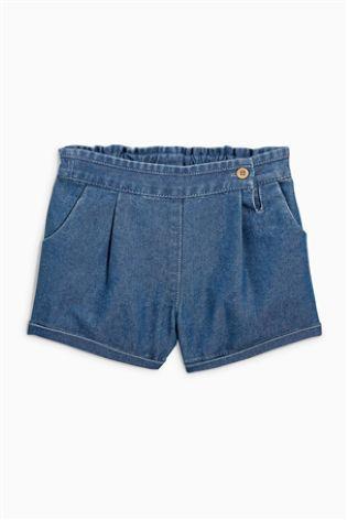 Джинсовые шорты с пуговицами (3 мес.-6 лет)