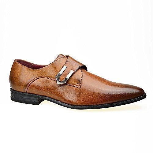 Oferta: 29.14€. Comprar Ofertas de Robelli - Zapatos de cordones de Piel para hombre Marrón marrón barato. ¡Mira las ofertas!