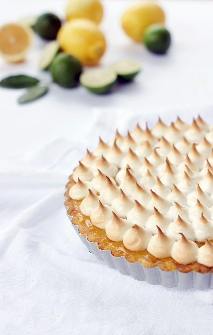 Peaks of perfection: a lemon meringue tart recipe.