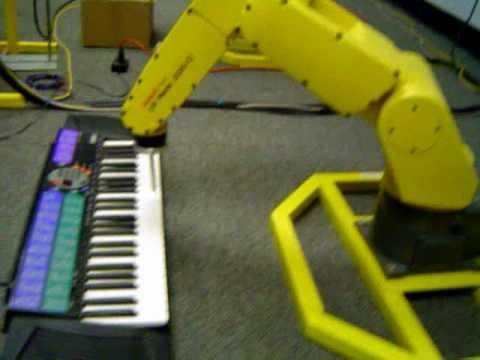 #Fanuc Robot plays the Piano